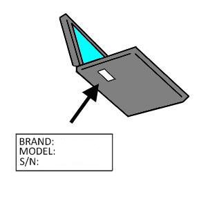 تشخیص مدل لپ تاپ