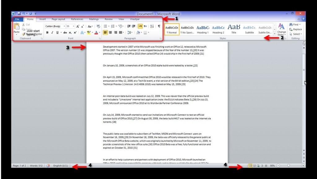 آموزش جامع Microsoft Word 2010