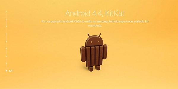 Andriod Kitkat