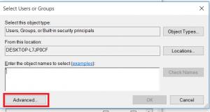 کپی نشدن فایل ها در درایو ویندوز 8و 10
