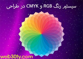 مدل رنگ RGB , CMYK چیست