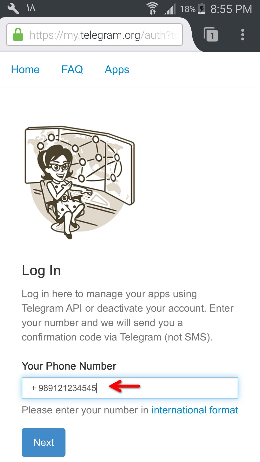 آموزش حذف اکانت تلگرام (Delete Account Telegram)| تصویری