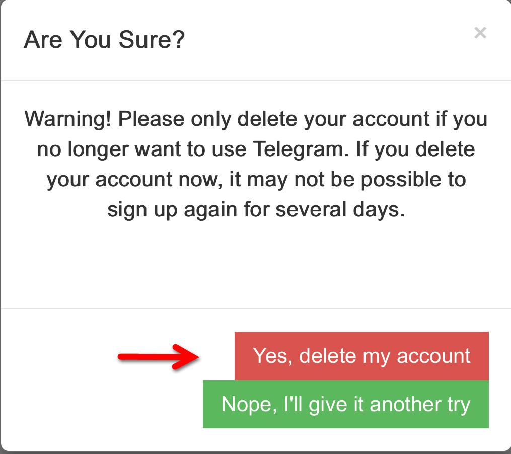 چگونه اکانت پاک شده تلگرام از گوشی را برگردانیم آموزش حذف اکانت تلگرام (Delete Account Telegram) آموزش ...